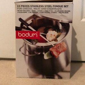 Bodum fondue set